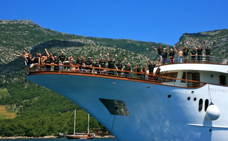 Croatia Private Yacht Gay Cruise with OUT Adventures (Aug 2014) Main Image